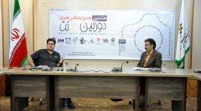 عکس // نشست مرتضی نیکوبذل و محمد نوروزی در جشنواره
