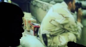 عکس/ کارگاه عکاسی جنگ با تلفن همراه