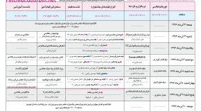 برنامه روزهای جشنواره عکس خبری دوربین.نت