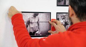 عکس|نصب آثار چهاردهمین جشنواره دوربین.نت